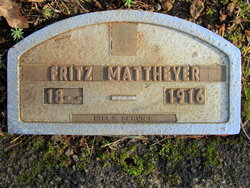 "Fredrick Gottfried ""Fritz"" Mattheyer"
