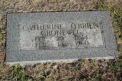 Catherine <I>O'Brien</I> Groneweg