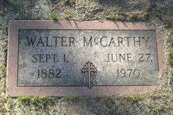 "James Walter ""Walter"" McCarthy"
