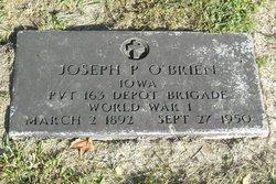 Joseph P O'Brien