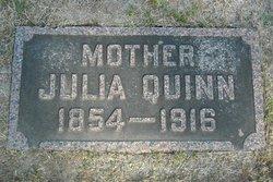 Julia <I>Fitzgerald</I> Quinn