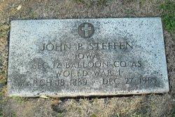 John P Steffen