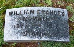 William Frances McMath