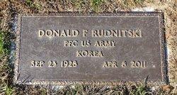 Donald F Rudnitski