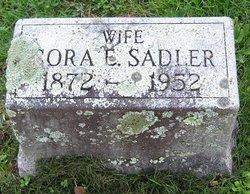 Cora E <I>Sadler</I> Shaw