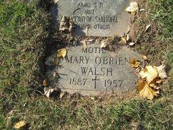 Mary <I>O'Brien</I> Walsh