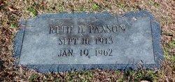Ruth H Paxson