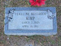 Pearline <I>Kendrick</I> Kimp