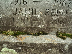 Janie <I>Furlow</I> Reed