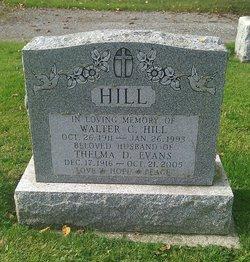 Thelma D. <I>Evans</I> Hill