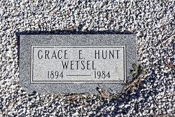 Grace Edna <I>Mooney</I> Wetsel