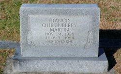 Francis <I>Quesinberry</I> Martin