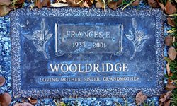 Frances E. <I>Schaefer</I> Wooldridge