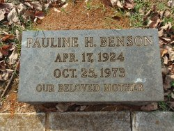 Pauline <I>Hastings</I> Benson