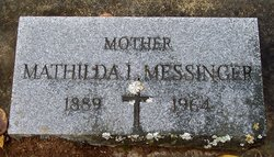 "Mathilda L ""Tillie"" <I>Souvenir</I> Messinger"
