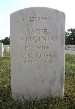 Sadie Virginia Miller