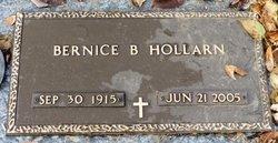 Bernice B. Hollarn
