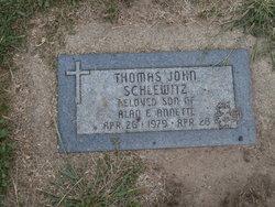 Thomas John Schlewitz