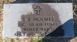 T. Z. Holmes