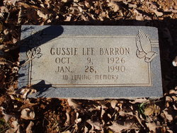 Gussie Lee Barron