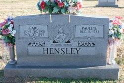 Earl Hensley