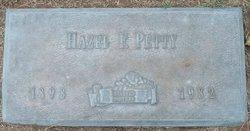 Hazel Frances Petty