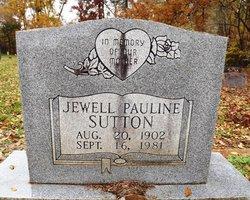 Jewell Pauline <I>Goolsbee</I> Sutton