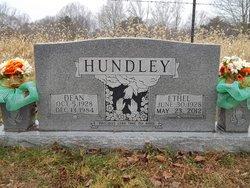 Ethel <I>Reed</I> Hundley