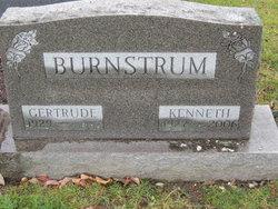 Gertrude R Burnstrum