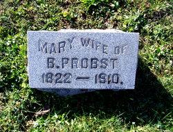 """Anna Maria """"Mary"""" <I>Probst</I> Probst"""