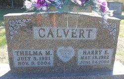 Thelma Mae <I>Ray</I> Calvert