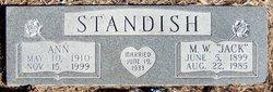 Ann <I>Summers</I> Standish