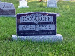 Alex M Cazakoff