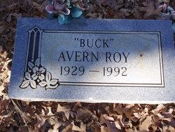 """Avern V """"Buck"""" Roy"""