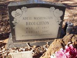 Adell <I>Washington</I> Broughton