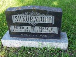 Mary F Shkuratoff