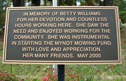 Betty Anelia <I>Miller</I> Williams