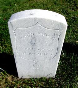 Rev John Jacob Probst