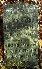 Susannah C <I>Cook</I> Cushing