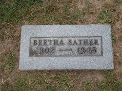 Bertha <I>Lurndahl</I> Sather