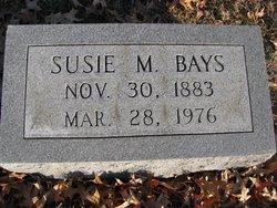 Susie M. Bays