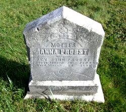 Anna Caroline <I>Laubscher</I> Probst