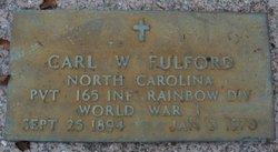Carl Walker Fulford