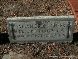 Evelyn <I>Croft</I> Cheek