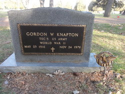 Gordon Walter Knapton