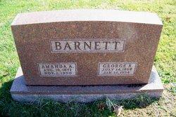 Amanda A <I>Pennington</I> Barnett