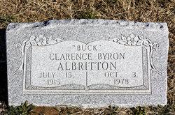 "Clarence Byron ""Buck"" Albritton"