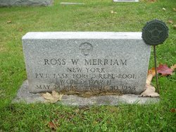 Ross W Merriam
