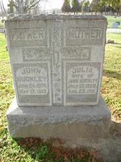 Julia <I>Barry</I> Buckley