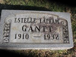 Estelle I <I>Latham</I> Gantt